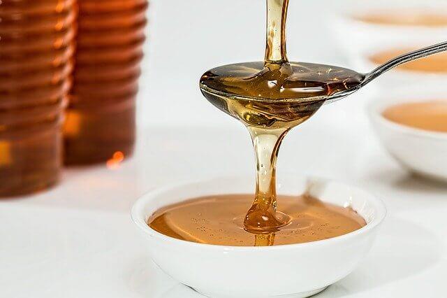 蜂蜜の保湿効果って凄いかもしれない。。